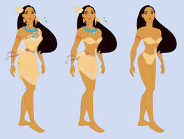 Pocahontas-  Wreck-It Ralph RP Fantasy outfits