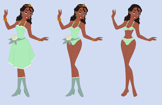 Tiana-  Wreck-It Ralph RP Fantasy outfits