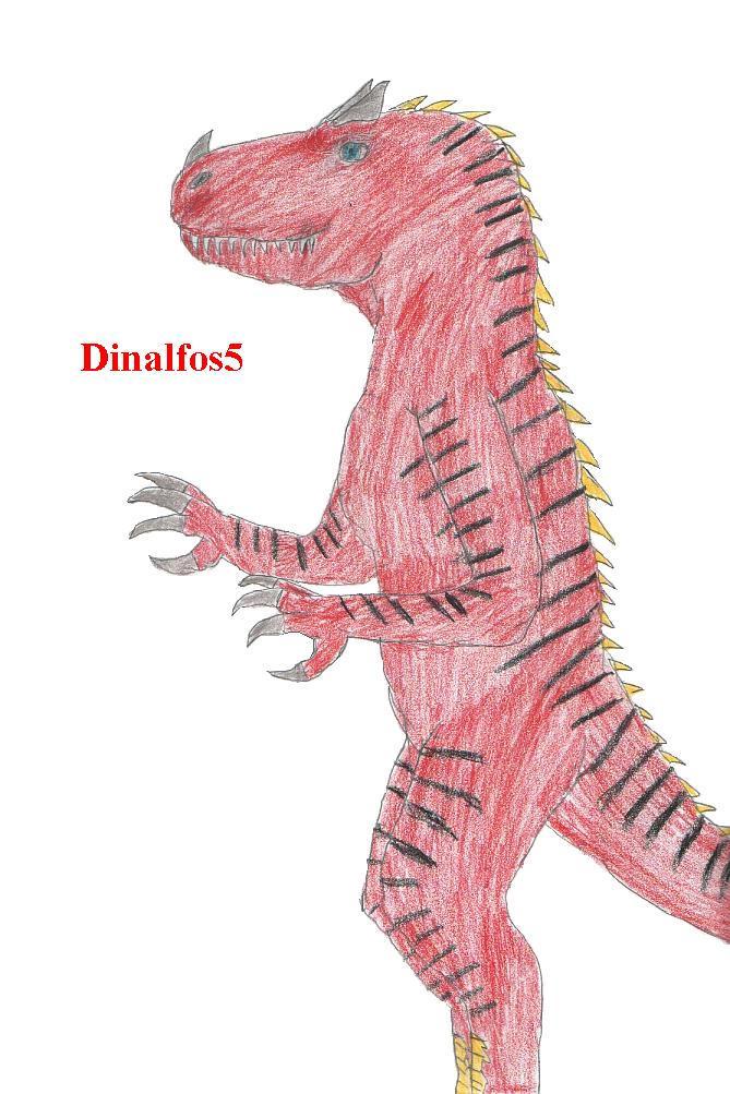 Allosaurus Lycanthrope Fursona