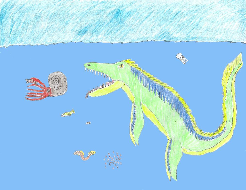 87 food tylosaurus by dinalfos5 on deviantart for The fish 95 9