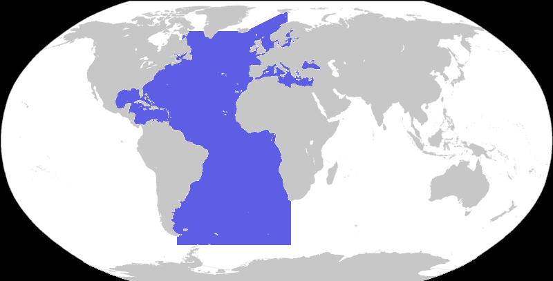 Mapa oceano Atlantico JPG by GianFerdinand on DeviantArt