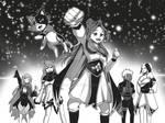 Manga Style Illustration of my OCs by KeikosArt