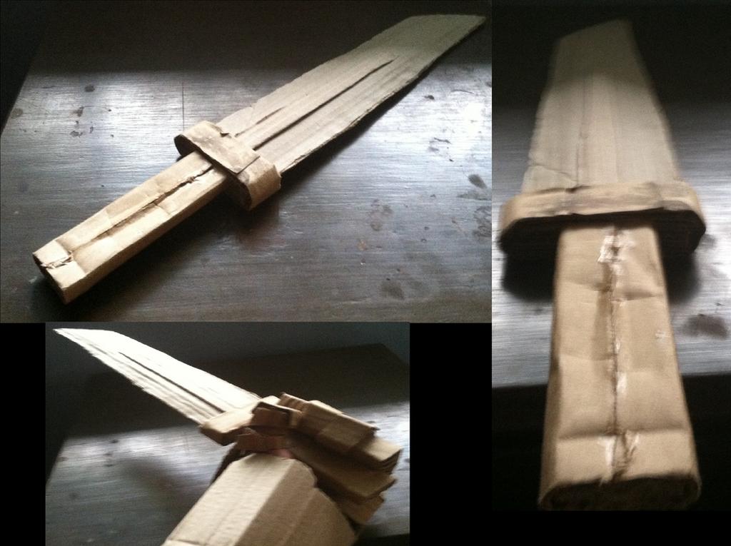 Cardboard Sword by tracender02