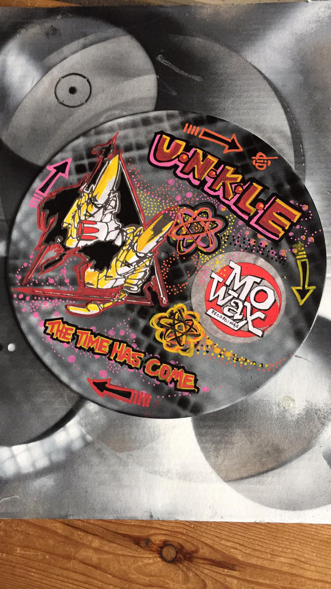 UNKLE 12 inch vinyl by diDprojects