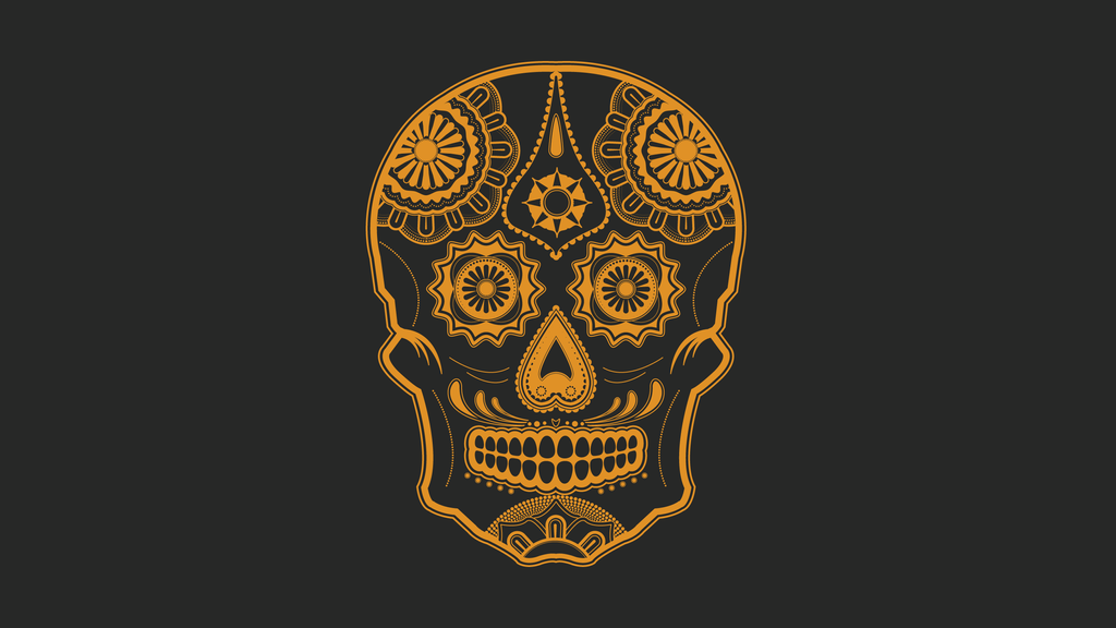 Sugar Skull By Mntbikeracer1
