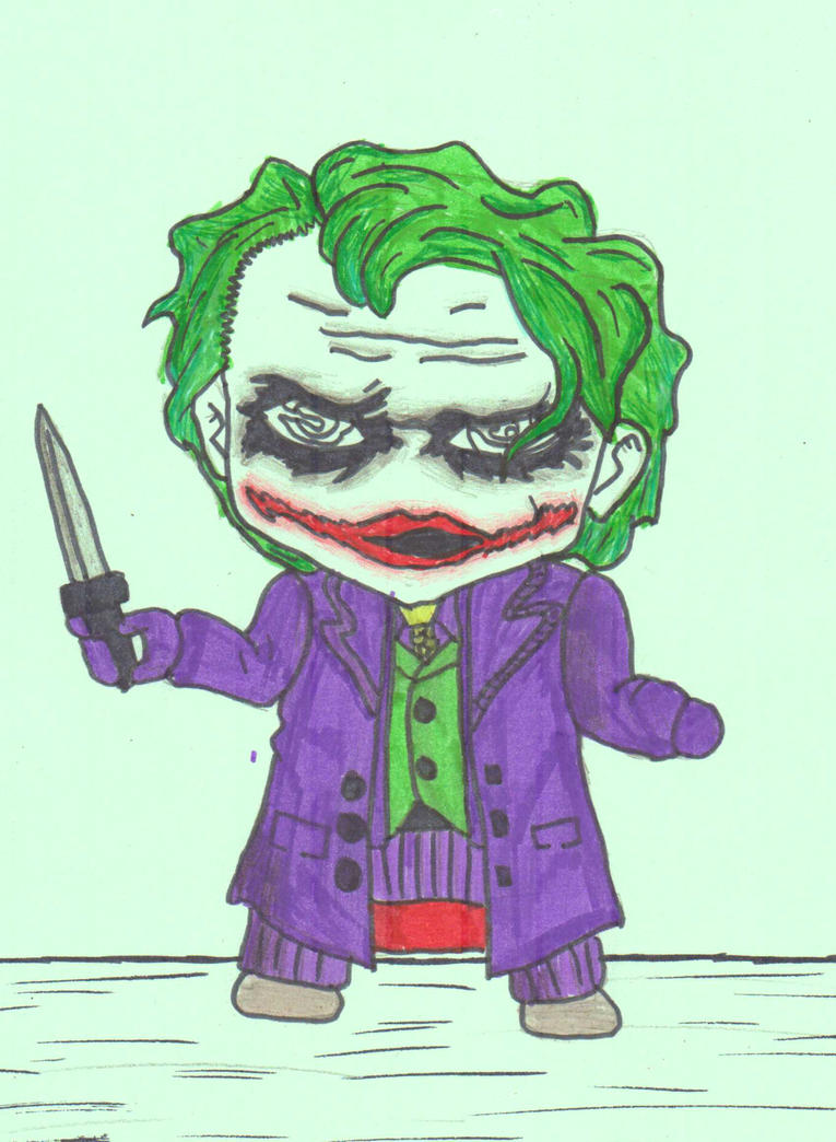 Joker chibi by Tishtasha14 on DeviantArt
