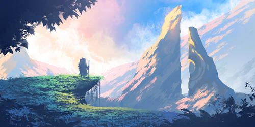 Random Environment 01