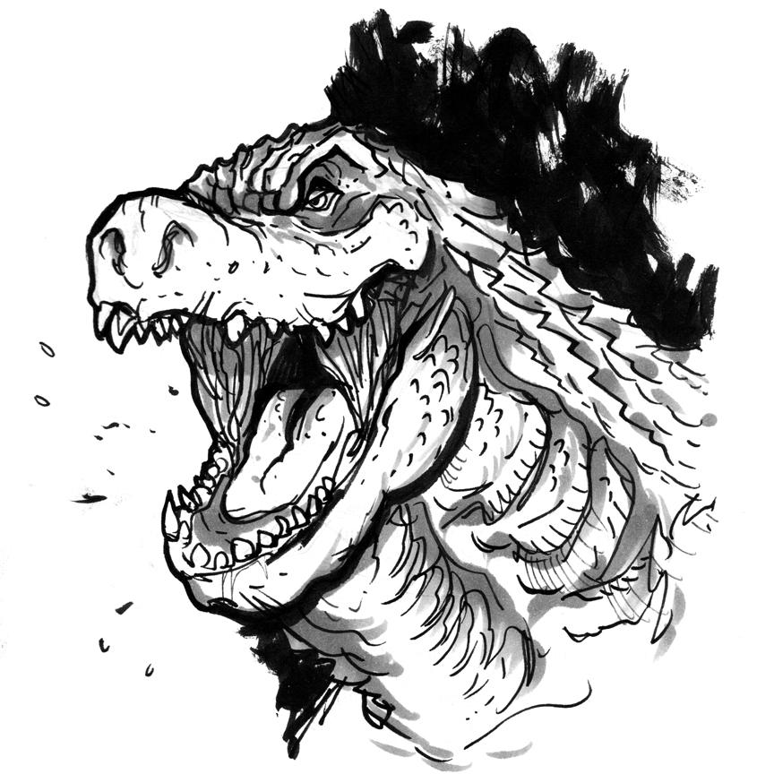 Legendary Godzilla 2014 by MatthewPetz
