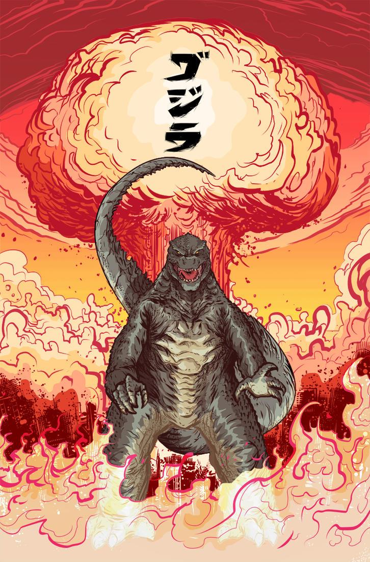 Legendary Godzilla! by MatthewPetz