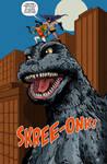 Batman/Godzilla 1996 Team Up!