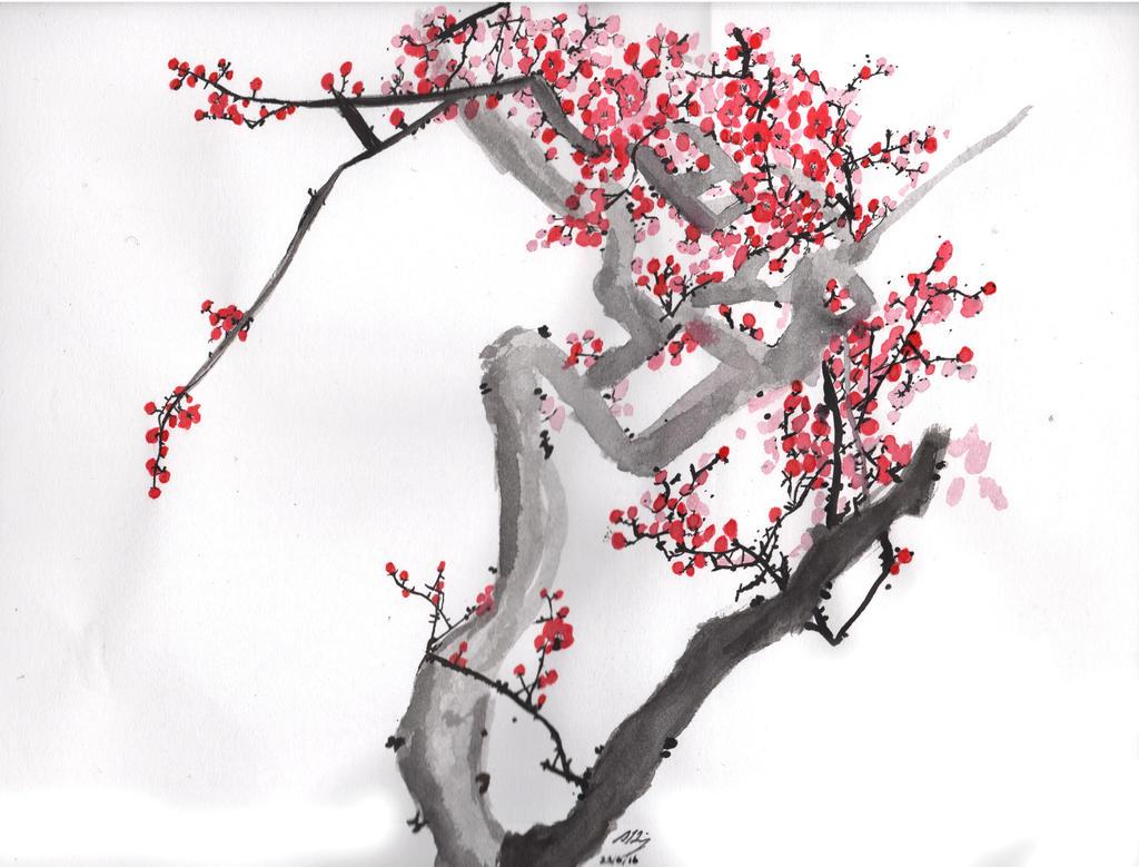 Plum Blossom 4 by HGManiac15