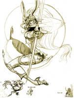 final fantasy Fran by xBORNx