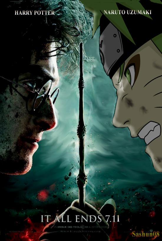Naruto vs Harry by sashun08