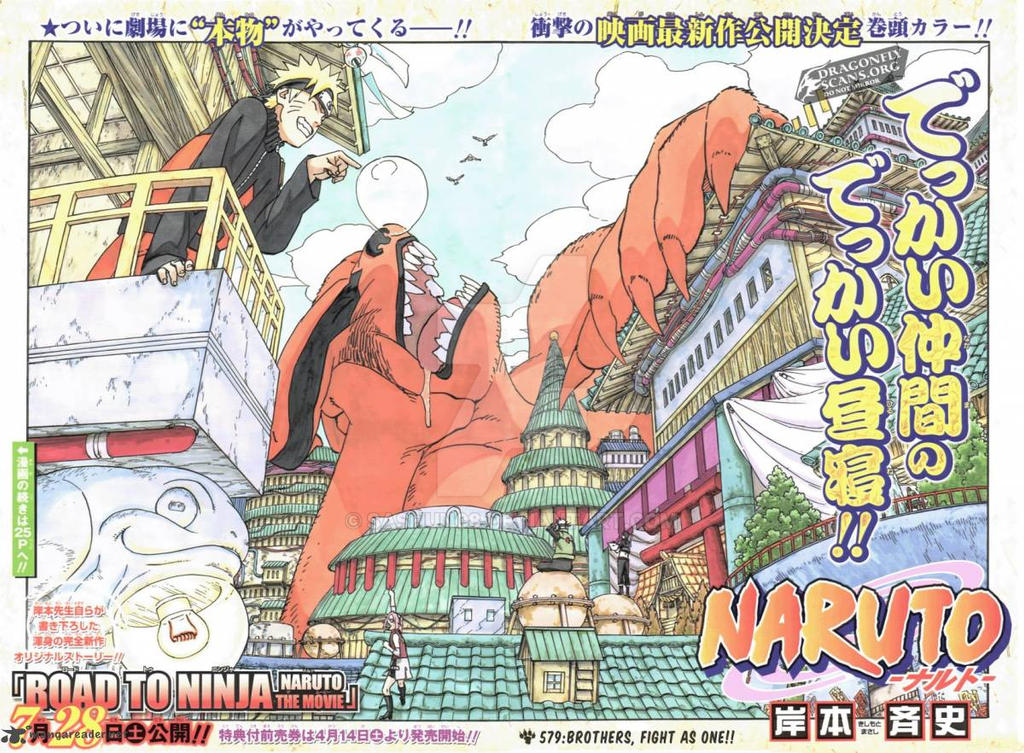 Naruto 579 Review By Sashun08 On Deviantart