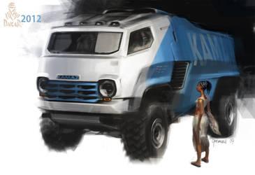 KamAZ_Dakar by gousman