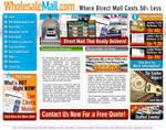 WholeSaleMail.com Web Site