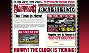 Markdown Countdown