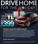 Acura Holiday Email Design 2