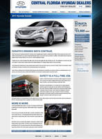 Sonata SEO Landing Page Design by xstortionist