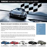 Porsche Landing Page Design by xstortionist