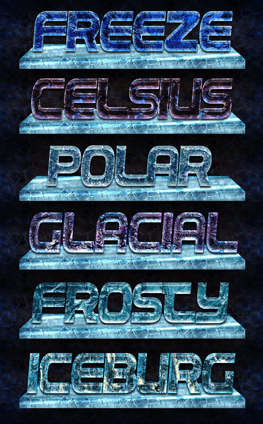 Icetext explore icetext on deviantart schrodingers pat 25 4 ice crystals photoshop styles by xstortionist baditri Images