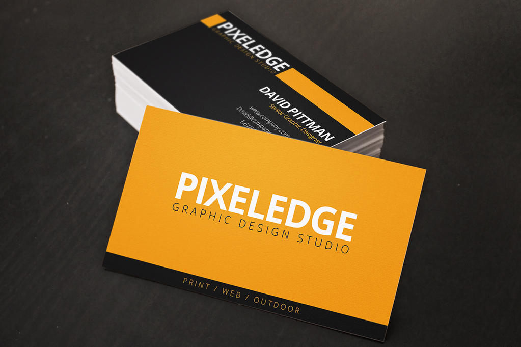 Graphic Designer Business Cards by xstortionist on DeviantArt