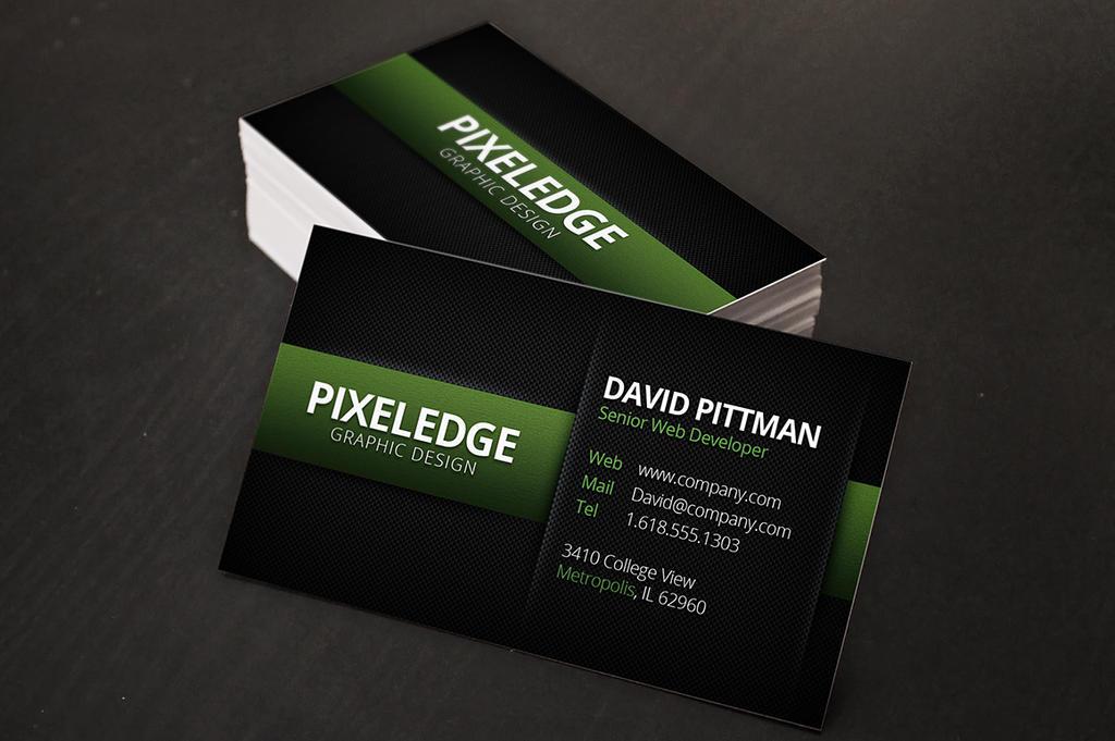 Carbon Fiber Business Cards v2 by xstortionist on DeviantArt