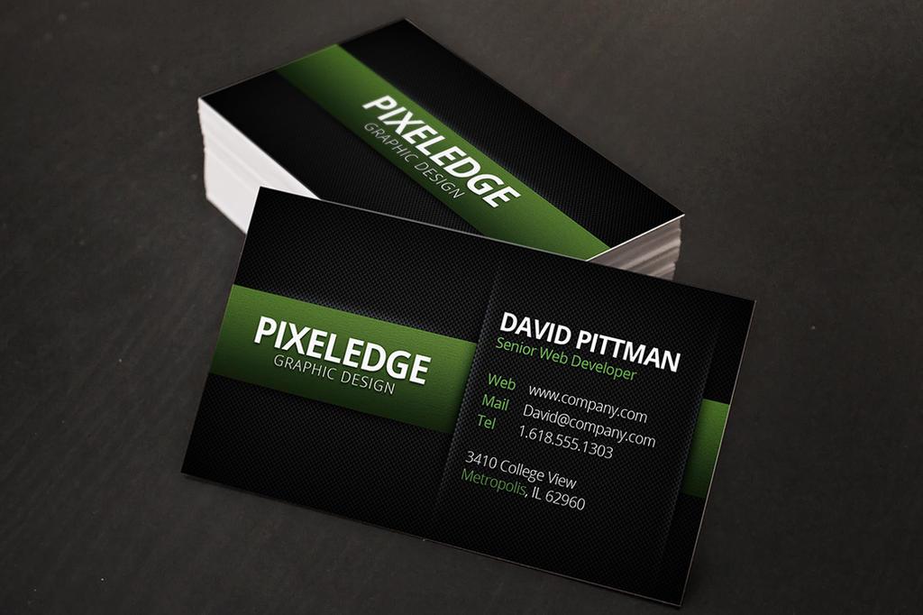 Carbon Fiber Business Cards v2 by xstortionist