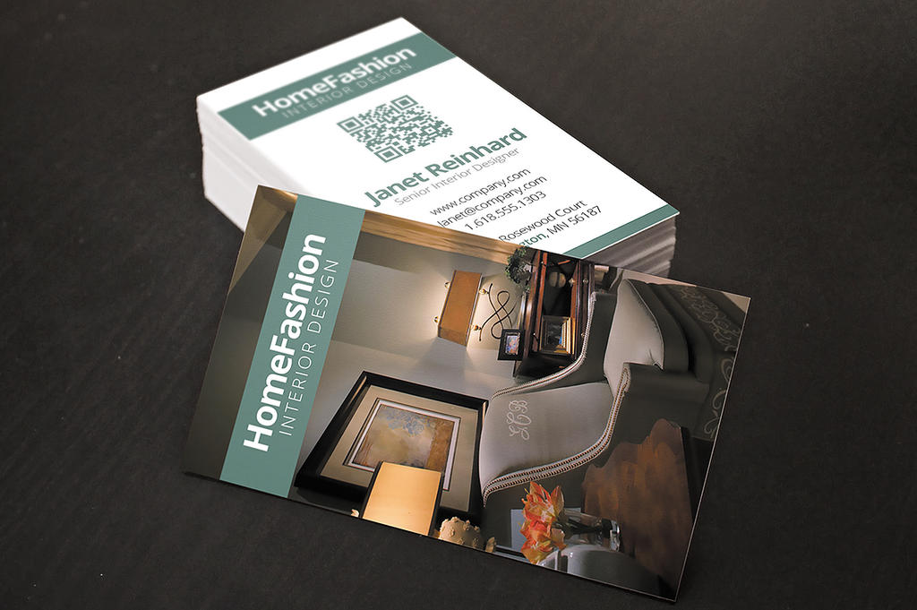 Interior Designer Business Cards By Xstortionist