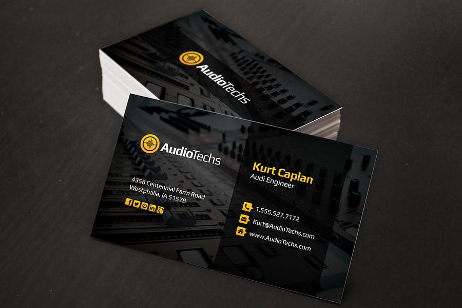 Audio producer business cards by xstortionist on deviantart audio producer business cards by xstortionist colourmoves