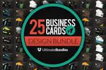 25 Business Card Designs Bundle