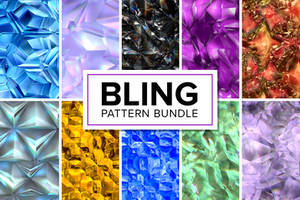 50 Bling Patterns - Bundle by xstortionist