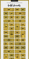 Gold Accents Collection by xstortionist