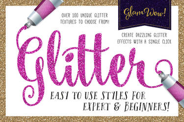 Glitter Textures and Patterns for Photoshop by xstortionist