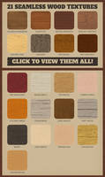 Wood Pattern Swatches for Adobe Photoshop