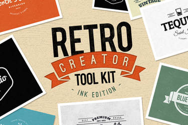 Retro Creator Tool Kit - Ink Edition by xstortionist