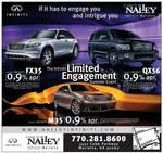 Infiniti Car Ad