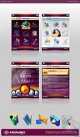KIDAUBIS mobile ui design