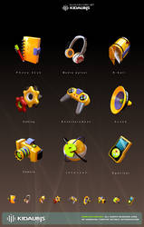 KIDAUBIS mobile ICON design 2 by kidaubis