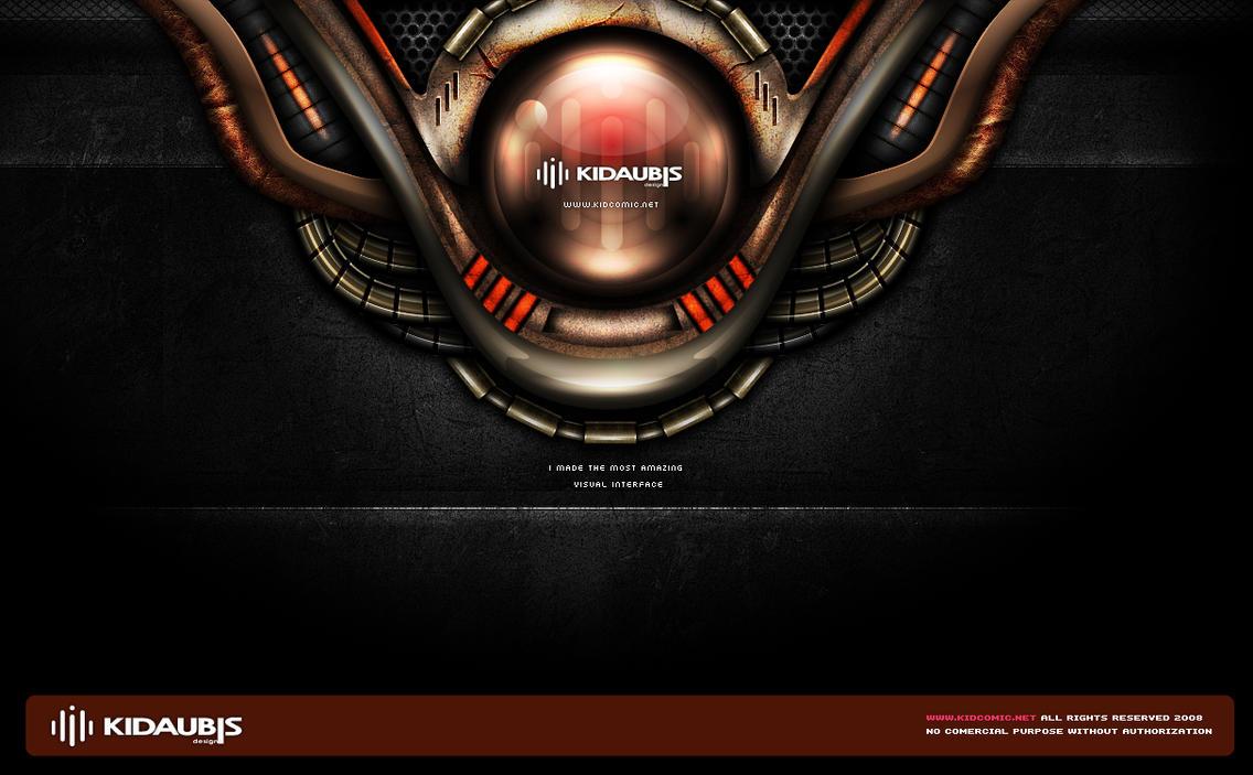 KIDAUBIS GUI concept design 4 by kidaubis