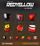 kidaubis_redyellow_3d icon