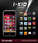 I_KID ICONS FOR IPHONE