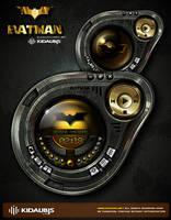 Batman Media palyer skin by kidaubis