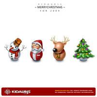 2009 Christmas icon by kidaubis