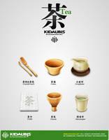 chinese tea icon by kidaubis