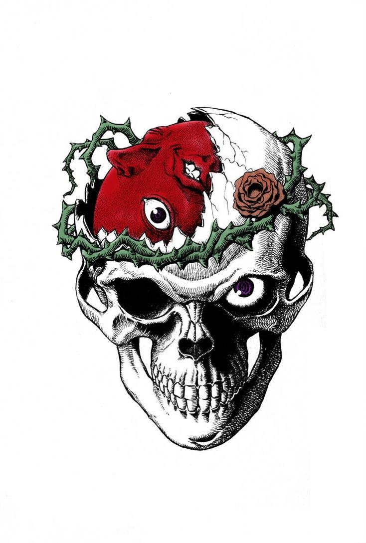 Behelit Skull By Nullslayer