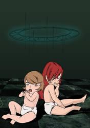 Persona 3 Yukari and Mitsuru AR by Thirdsync