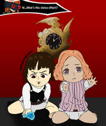 Makoto and Haru AR by Thirdsync
