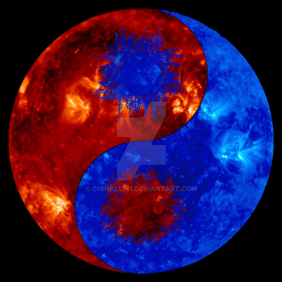 Fire And Ice Ying Yang