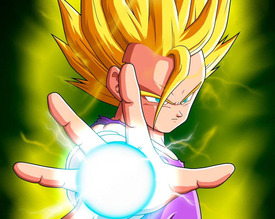 Gohan Teen Super Saiyan 2 by Wingweaver666 on DeviantArt